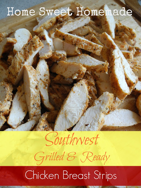 Southwest Grilled & Ready Chicken Breast Strips