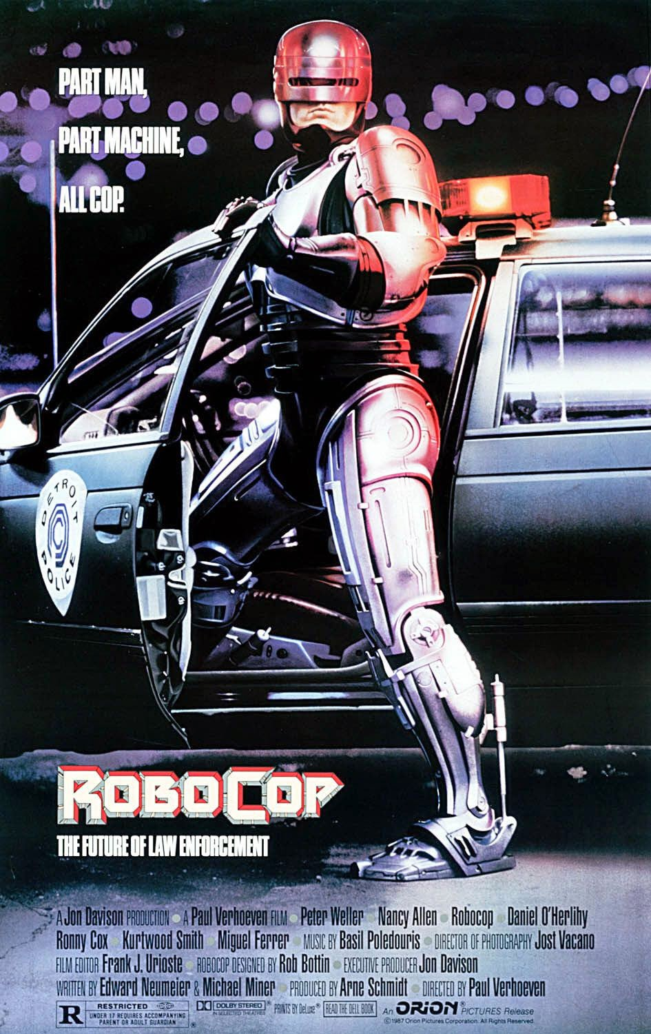 Robocop - Director's Cut - New Digital Print - Friday 25th July - 10:30pm - Light House Cinema