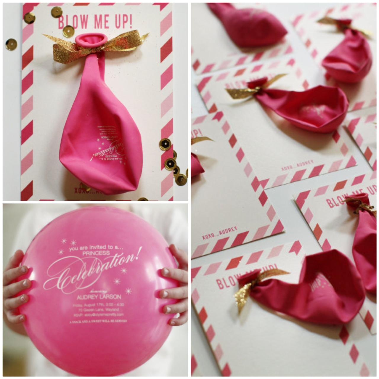 Balloon Invitations | Balloon Invitations Pictures
