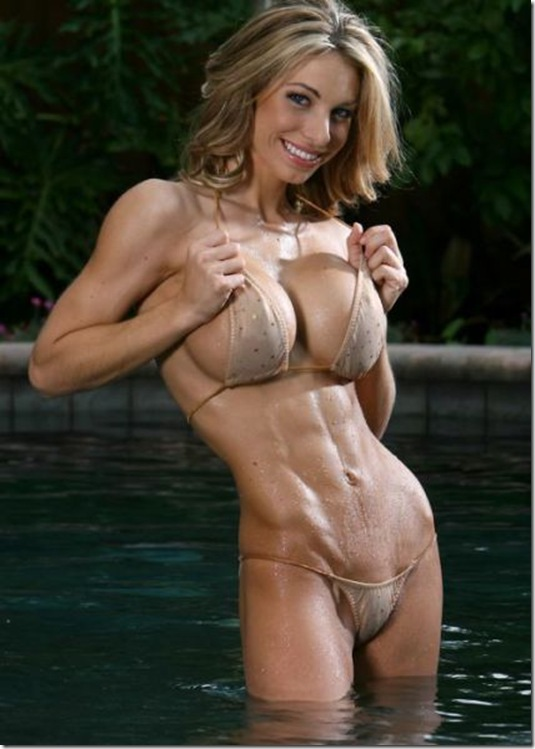 amazing girls six pack abs