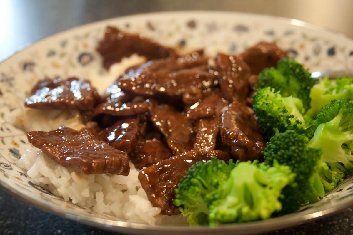 Foto Masakan Beef teriyaki