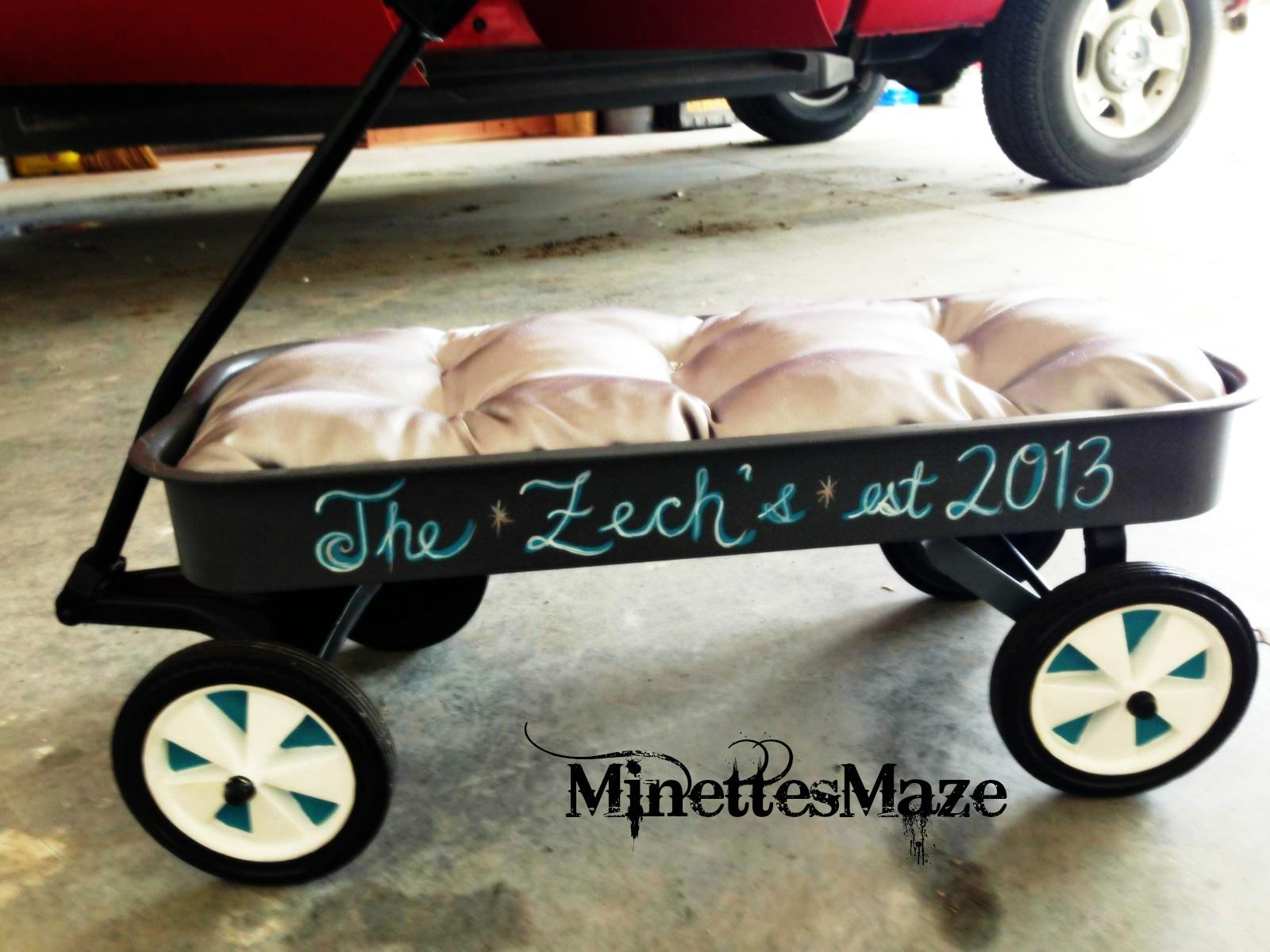 Minettesmaze Zech 39 S Wedding Wagon Redo