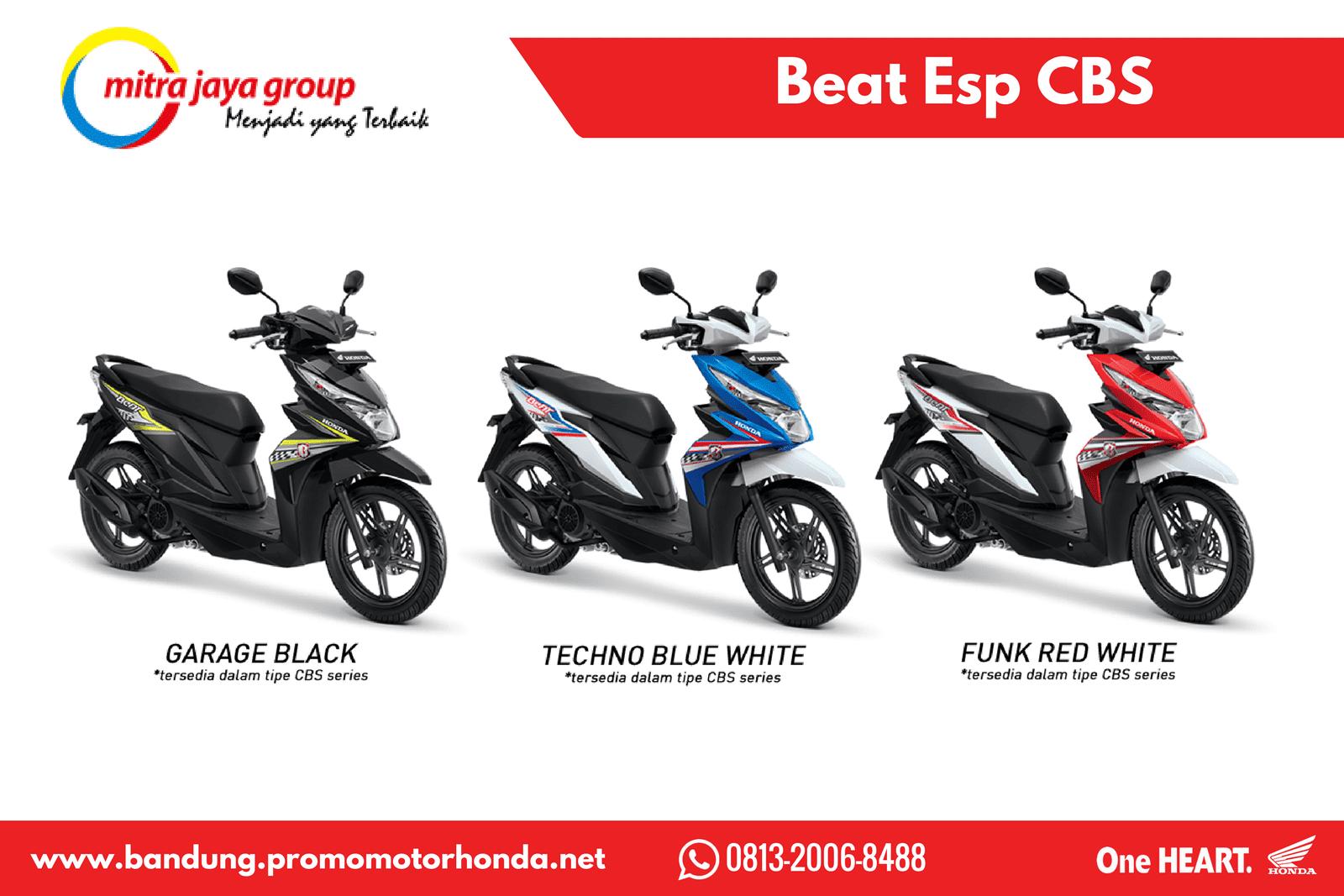 Honda Beat Sporty Cbs Techno Blue White List Harga Terkini Dan New Vario 110 Esp Iss Grande Tangerang Kredit Motor Terbaru Wilayah Bandung