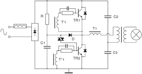 project station  12v halogen lamp electronics transformer