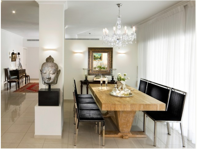 New asian dining room furniture design 2012 from haiku for Japanese dining room decorating ideas