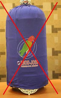 Hindari Kerudung - Perawatan Burung Lovebird Dengan Mudah
