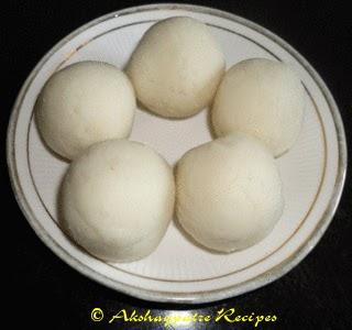 dough divided for  Ukadiche Modak