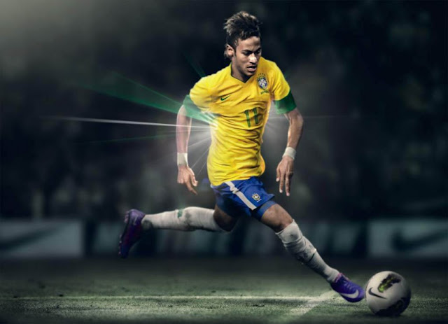 Junior Wallpapers HD 2012 2013 with Santos and Brazil jerseys 2013