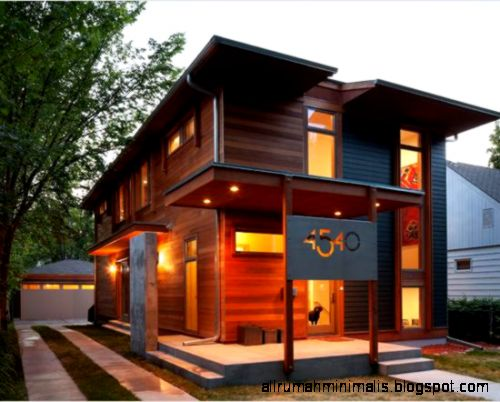 desain rumah kayu minimalis1  Cara Mendesain Rumah