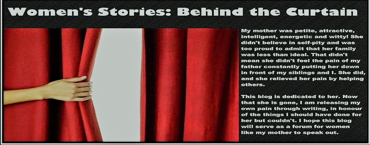 Women's Stories: Behind the Curtain