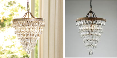 Look for less pottery barn vs overstock pottery barn camilla 19999 vs overstock iron and crystal chandelier 12329 mozeypictures Choice Image