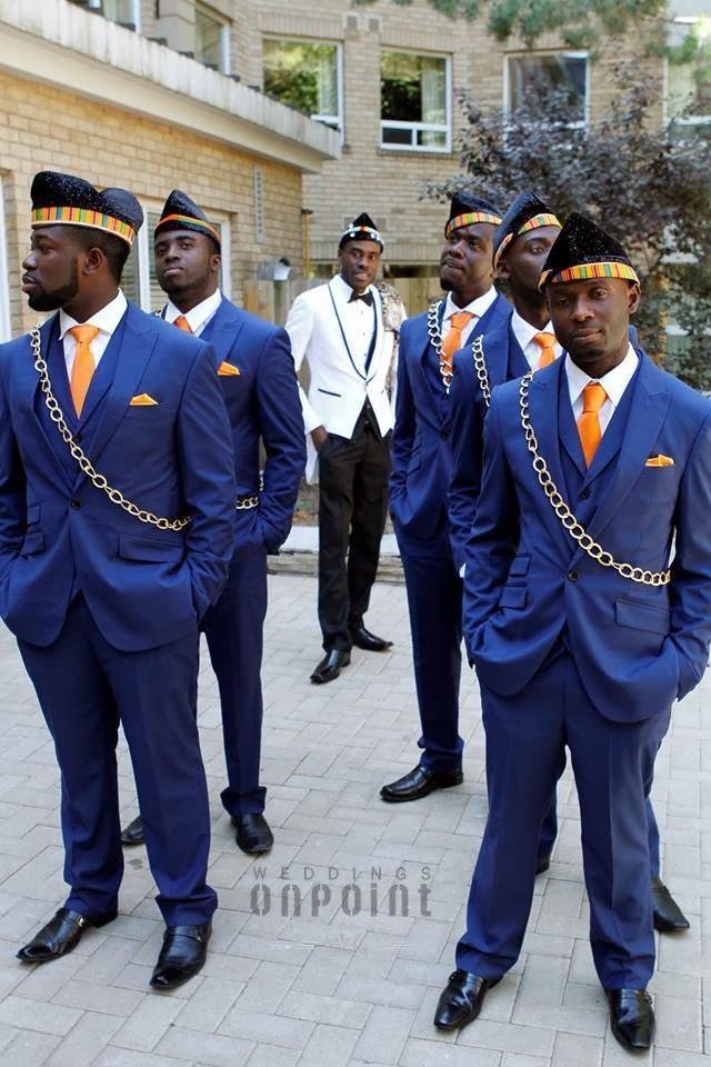 Best Ghanaian wedding with Kente