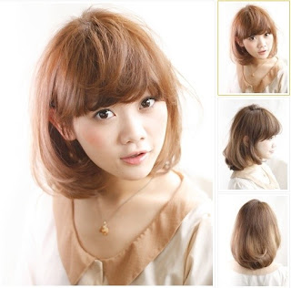 Model Rambut Cewek Korea 2013