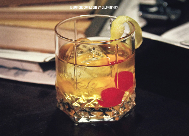 Old fashioned - Cocktail de don DRaper en Mad men