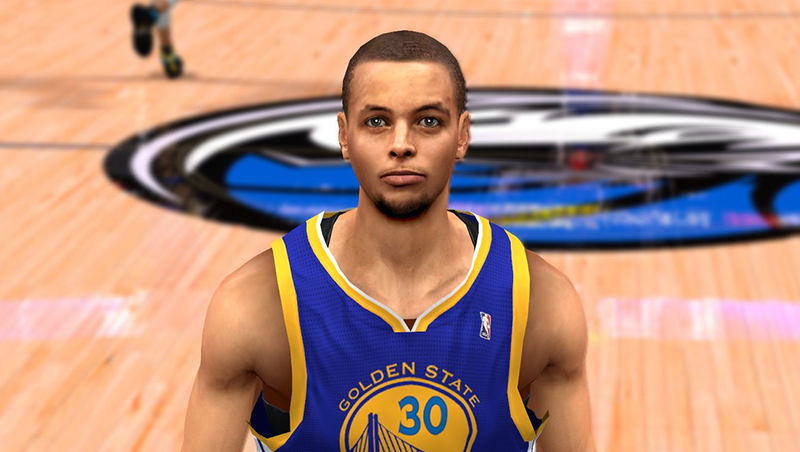 Steph Curry Cyberface Patch