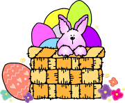 Participate is the annual children's Easter egg hunt. easter