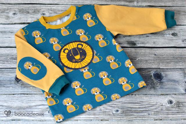 Täschling und Ottobre Shirt aus Bo und Little Lion