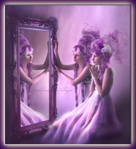 Ma vie est comme un roman le miroir magique for Le miroir de ma vie