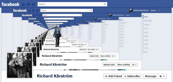 richard karstrom facebookfever Amazing Creative Facebook Timeline Covers