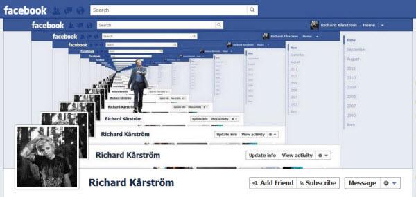 richard karstrom facebookfever Amazing Creative Facebook Timeline Covers