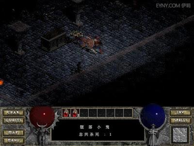 暗黑破壞神1代(Diablo)硬碟綠色免安裝版下載,超經典動作RPG系列的始祖!