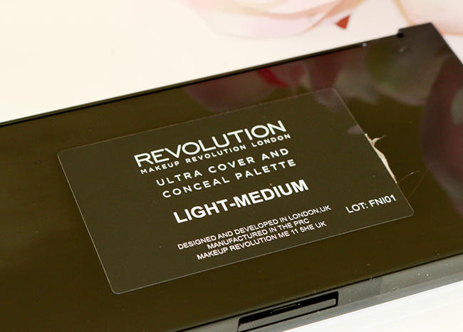 Makeup Revolution Cover & Conceal Palette in Light-Medium