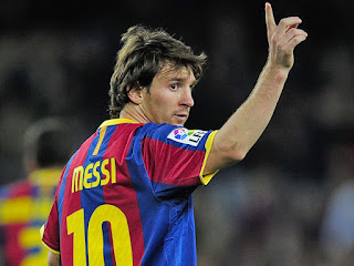lionel messi victory to his fans
