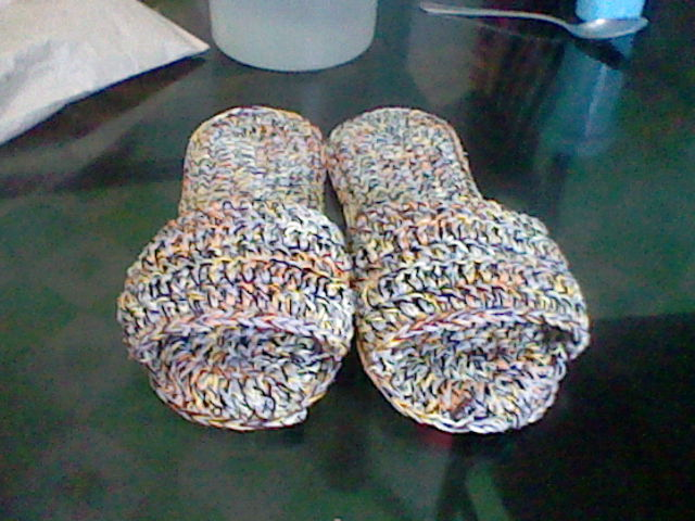 Crazy Crochet Bedroom Slippers
