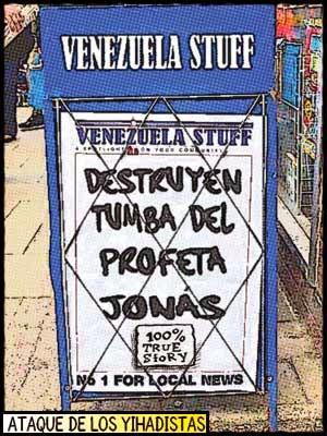 Newsstand comic - tumba profeta Jonás