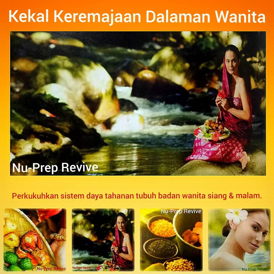 Nu-Prep Revive. Supplement terbaik untuk wanita.