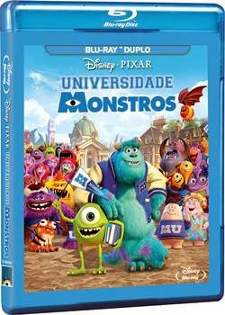 Universidade Monstros Bluray 720p + 1080p 3D Dublado RMVB + AVI Dual Áudio + Torrent BDRip