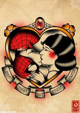 Fotos de tatuagens de coração para mulheres