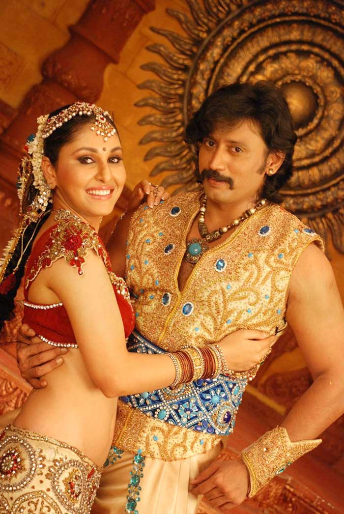 Pooja Chopra Hot Stills from Ponnar Shankar Movie