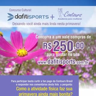 Concurso Cultural - Dafiti Sports + Contours