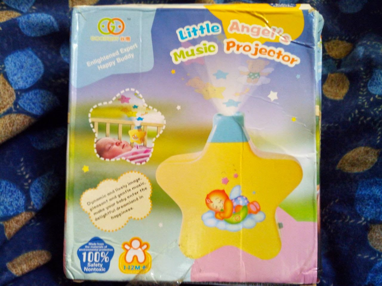 Little Angel Music Projector