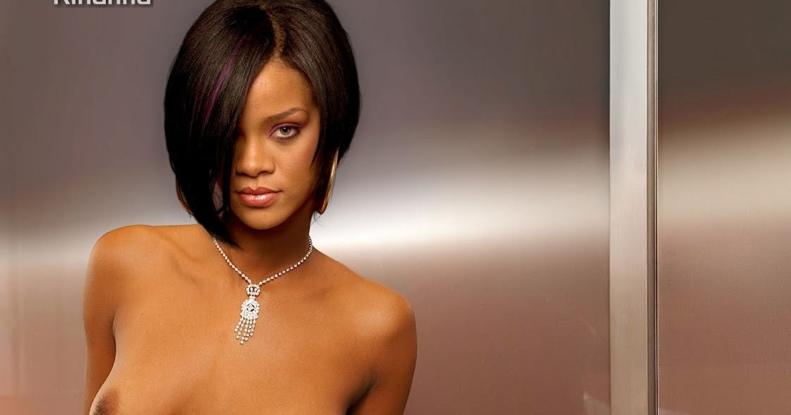 necked pussy picture of rihanna