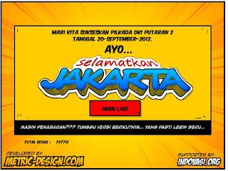 Game Jokowi-Ahok