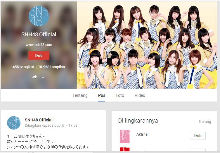 G+ SNH48 Official