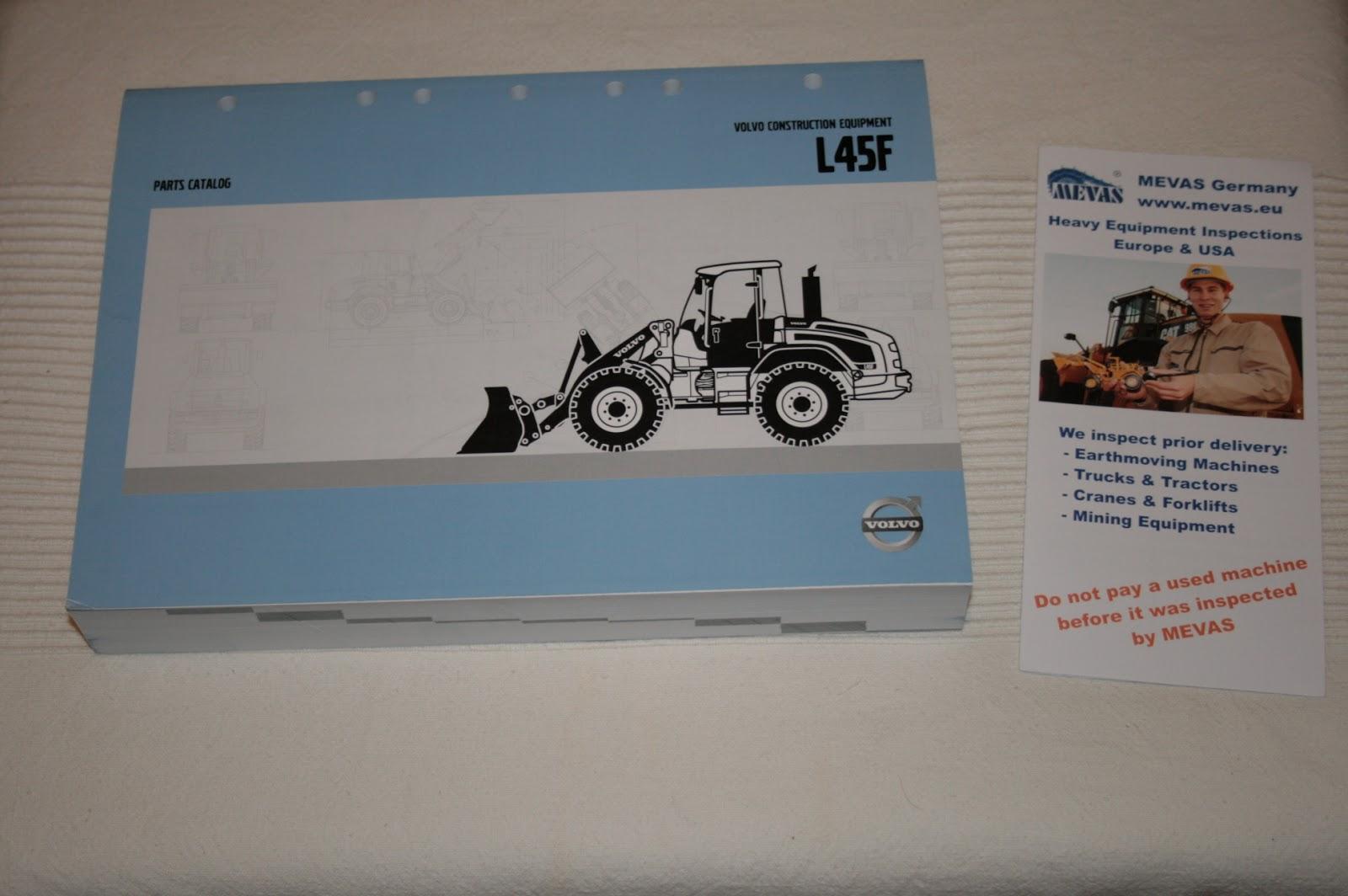 Caterpillar 320C, 320CL and 320CLN Parts Manuals Set SEBP2901-03 ...