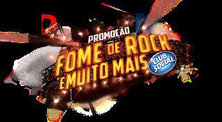 """Promoção """"Club Social - Fome De Rock e Muito Mais"""""""