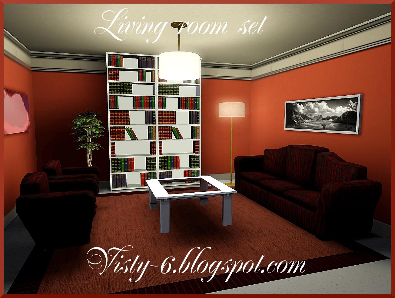 Visty6 Comfortable Living Room Set