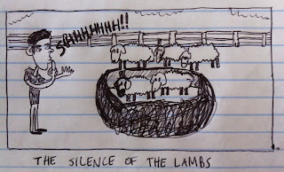 the lambs are silent
