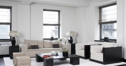 Several Pros and Cons Designing Black And White Living