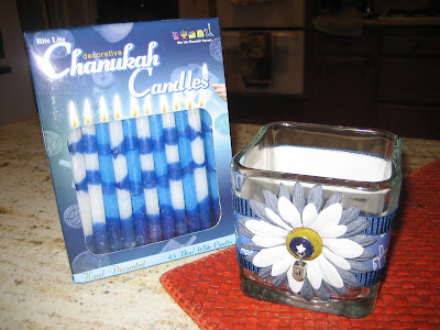 holiday crafts with candles