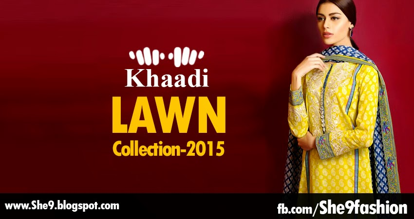 Khaadi Lawn Collection 2015