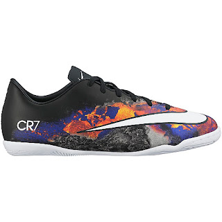 Sports authority coupon 25%: Nike Kids' Junior Mercurial Victory V IC CR7 Low Indoor Soccer Shoes
