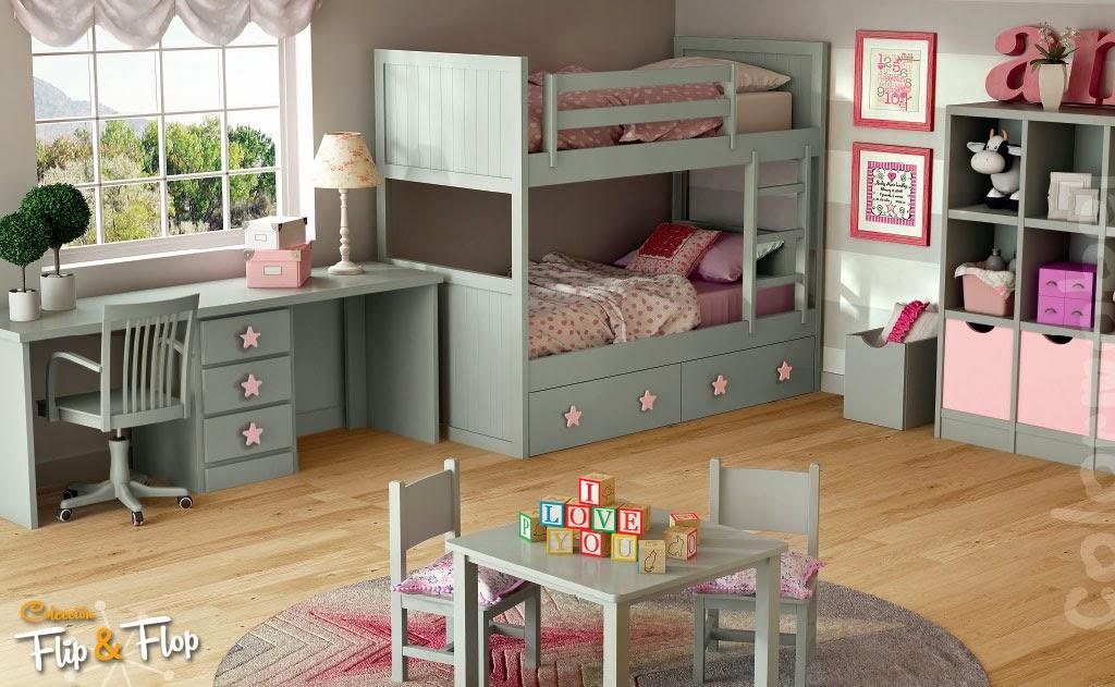 Literas de tres camas - Quitamiedos para literas ...