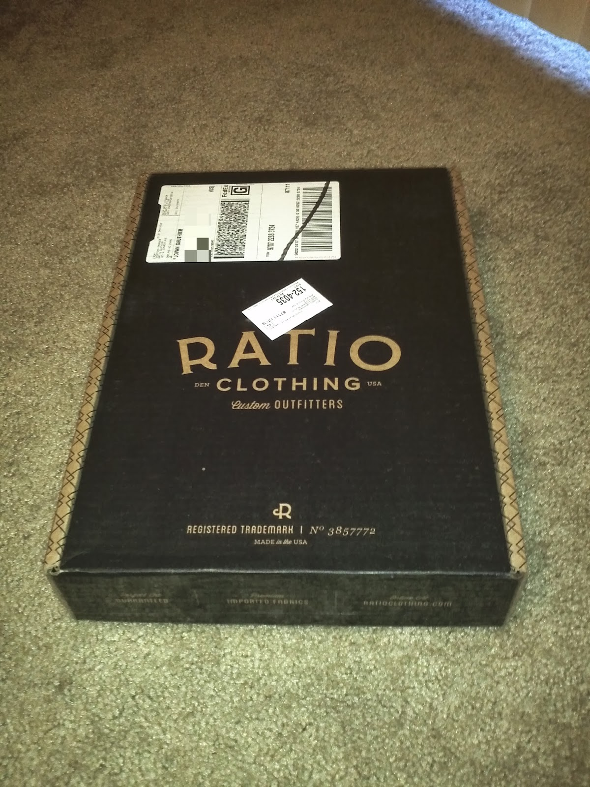 Ratio Clothing coupon code Click