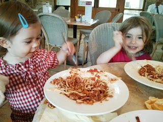 spaghetti for tea
