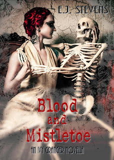 Blood and Mistletoe (Ivy Granger, Psychic Detective #1.5) by E.J. Stevens